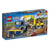 Конструктор LEGO City Уборочная техника Sweeper & Excavator Set 60152