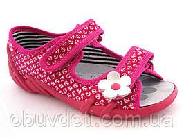 Розовые сандалии для девочек Renbut 30 (19,5 см)