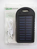 Power Bank SoLar Charger 20000mAh с LED подсветкой и Карабином