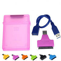 Карман для внешнего жесткого диска USB3.0 SATA-адаптер. Карманы для винчестеров 2,5-дюймовых HDD/SSD до 2Тб