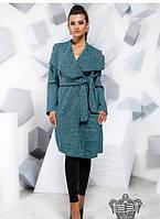 Пальто женское большого размера батал