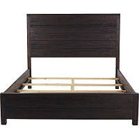 Кровать двуспальная из массива с высоким изголовьем