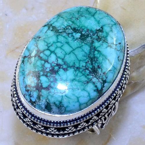 Бирюза в серебре кольцо с бирюзой размер 18,5.
