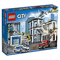Конструктор LEGO City Полицейский участок  Police Station Building Toy 60141