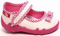 Тапочки для девочек светлые  Renbut  24 (15,5 см)