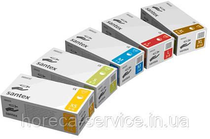 Перчатки Mercator Medical,Латексные,Santex powdered,Нестерильные, Припудренные 50 пар S, фото 2