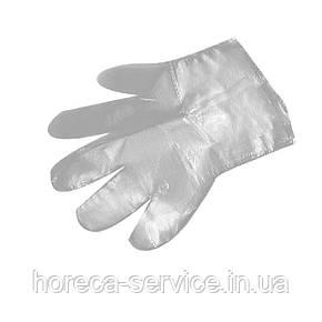 Перчатки одноразовые ПЕ, фото 2