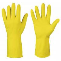 Перчатки PRO-Service Optimum S, M, L латексные желтые