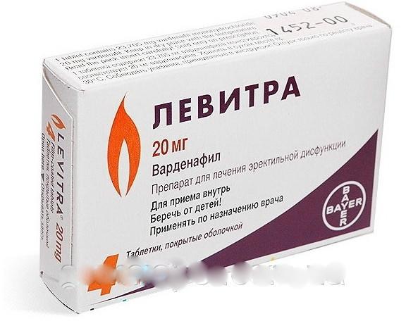 левитра таблетки для потенции