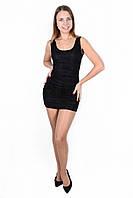 """Облегающее гипюровое мини-платье """"Хилтон"""" с открытой спиной"""