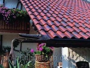 Угол крыши дома