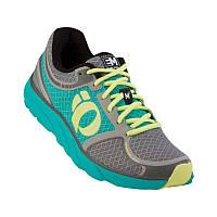 Беговая обувь женская PEARL IZUMI W EM ROAD M3, серая/зелен разм 7.5/24.0cm/EU38.5