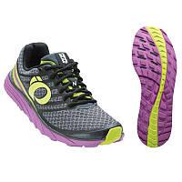 Беговая обувь женская PEARL IZUMI W EM TRAIL N1 v2, серый/фиолет, разм. 25.0см/EU40.0