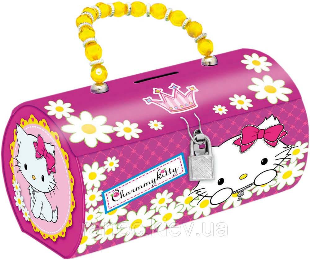Копилка-сумочка металлическая Чарммикитти. 703990 1 Вересня