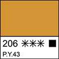 Краска темперная МАСТЕР-КЛАСС охра светлая, 46мл ЗХК