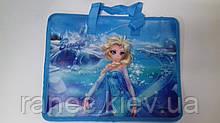 Папка с тканевыми ручками Мультяшки (для девочек) Frozen 7416F Мультяшки