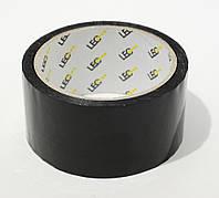 Скотч клейкая лента упаковачная 48мм. 50 ярдов (0,040) черный ТМ LEO 580202 Leo