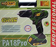 Шуруповерт Procraft PA18Pro