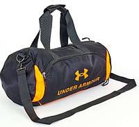 Спортивная сумка для зала UNDER ARMOUR UA-022-1 черно-оранжевый
