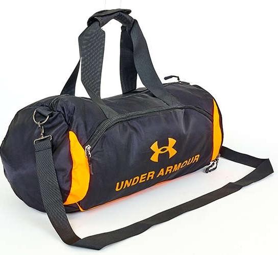 e0c7459e6027 Спортивная сумка для зала UNDER ARMOUR UA-022-1 черно-оранжевый, фото
