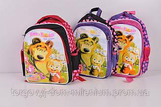 Рюкзак для девочки размер 25/35/10 см 4136