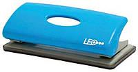 Дырокол  6 листов пластик голубой L1417-05 ТМ LEO