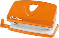Дырокол 10 листов  металлический  D1214-11 оранжевый ТМ Datum 240107