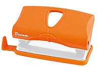 Дырокол 10 листов пластик  D1217-11 оранжевый ТМ Datum