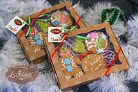 Набор пряников новогодний Пряничные человечки