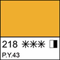 Краска масляная СОНЕТ охра желтая, 46мл ЗХК