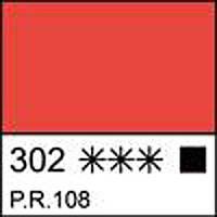 Краска темперная МАСТЕР-КЛАСС кадмий красный светлый 46 мл. ЗХК 351811 Невская палитра