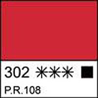 Краска темперная МАСТЕР-КЛАСС кадмий красный темный 46 мл. ЗХК 351812 Невская палитра