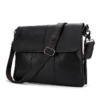 Мужская кожаная сумка. Модель 63234, фото 5