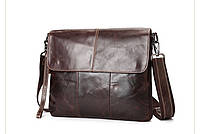 Мужская кожаная сумка. Модель 63234, фото 3
