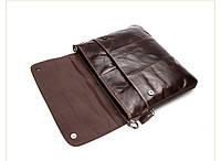 Мужская кожаная сумка. Модель 63234, фото 4
