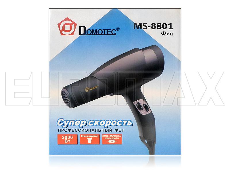 Фен для волос 2000Вт Domotec MS-8801