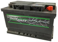 Аккумулятор GIGAWATT 100 Ah (Гигават) 100 Ампер GW 0185760002