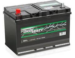 Аккумулятор GIGAWATT 91 Ah (Гигават) 91 Ампер GW 0185759101