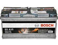 Аккумулятор BOSCH 105 Ah (Бош) 105 Ач (START-STOP) BO 0092S5A150