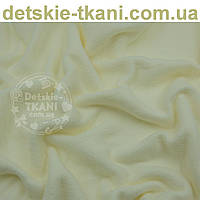 Флис  однотонный молочного цвета,  ширина 150м