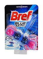 Чистящее средство для унитаза Bref Blue-Aktiv Цветочная Свежесть - 50 г.