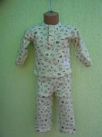 Пижама детская с начесом, фото 1