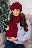 Берет + шарф (разные цвета)