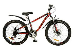 """Велосипед спортивный Flint 24"""" для подростка c lдисковыми тормозами"""
