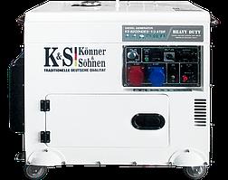 Дизельные генераторы KONNER&SOHNEN KS 9200HDES-1/3 ATSR