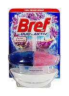 Чистящее средство для унитаза Bref Duo-Aktiv Лотос и Лаванда (подвесной блок) - 50 мл.