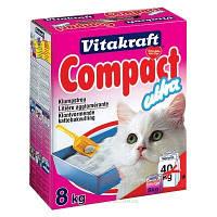 Наполнитель Vitakraft Compact Ultra для кошек бентонитовый, 2 кг