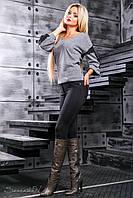 Женские молодежные черные леггинсы 2368 Seventeen 44-50 размеры