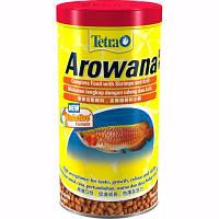 Корм Tetra Arowana для хищных рыб в палочках, 1 л