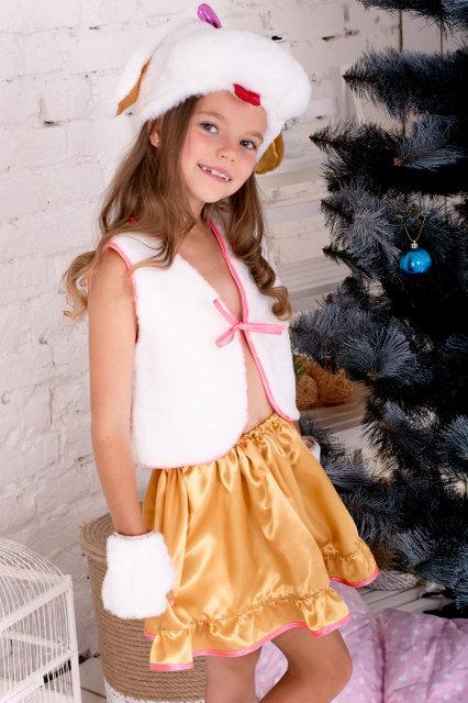 Карнавальный костюм Собачка для девочки